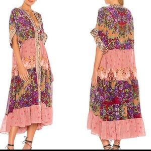 Free People One Fine Day Maxi Top Size Medium NWT